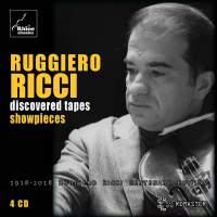 Ruggiero Ricci - Discovered Tapes - Showpieces
