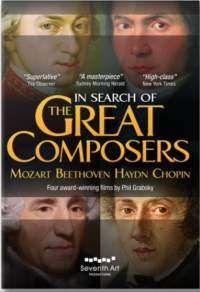 In Search of the Great Composers: Mozart, Beethoven, Haydn & Chopin