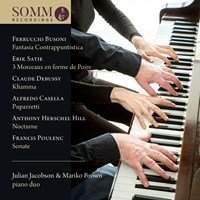Julian Jacobson & Mariko Brown: Piano Duo