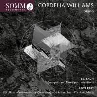Bach/Pärt: Cordelia Williams