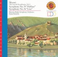 Mozart: The Last Six Symphonies, Vol. 1