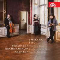 Zemlinsky, Rachmaninov, Arensky: Piano Trios