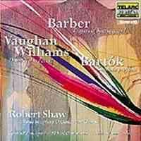 Barber: Prayers of Kierkegaard, Bartók: The Nine Enchanted Stags
