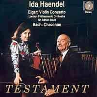 Elgar: Violin Concerto & Bach: Partita No. 2 for solo violin