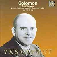 Beethoven: Piano Sonatas Nos. 23, 28, 30 and 31