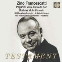 Paganini & Brahms: Violin Concertos