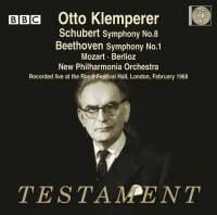 Otto Klemperer conducts Beethoven, Schubert, Berlioz & Mozart