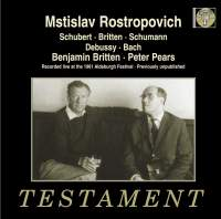 Rostropovich & Britten at the 1961 Aldeburgh Music Festival