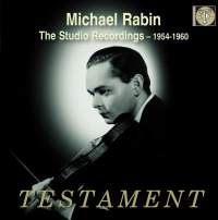 Michael Rabin: The Studio Recordings 1954-60