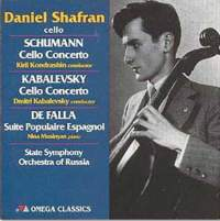 Daniel Shafran plays Schumann, Kabalevsky, Haydn & Falla