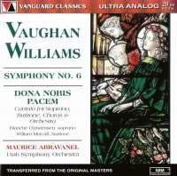 Vaughan Williams: Symphony No. 6 & Dona Nobis Pacem