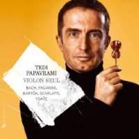 Tedi Papavrami: Violon seul (Solo Violin)