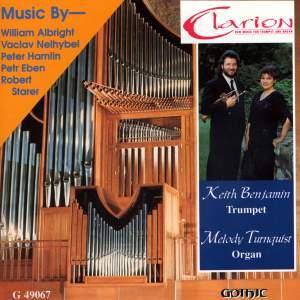 Eben: Okna - Starer: 3 Preludes - Hamlin: Sonata ben melodico - Albright: Jericho - Nelhybel: Metamorphosis