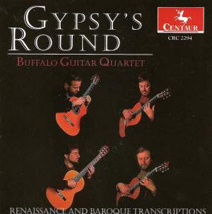 Gypsy's Round - Guitar Quartet Arrangements