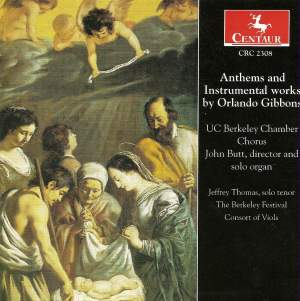 Gibbons: Anthems & Instrumental Music