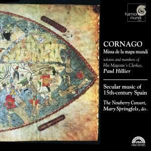 Cornago: Missa de la mapa mundi - Secular Music of 15th Century Spain Product Image