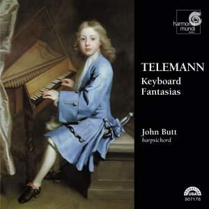 Telemann: Fantasias (36) for harpsichord, TWV 33 Product Image