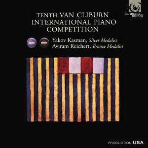 Tenth Van Cliburn Piano Competition - Silver & Bronze Medalists Product Image