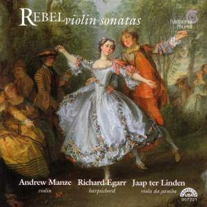 Rebel, J-F: Violin Sonatas