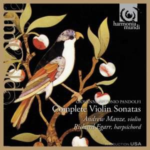 Pandolfi Mealli: Complete Violin Sonatas
