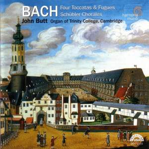 Bach - Schubler Chorales and Toccatas & Fugues Product Image