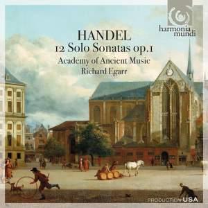 Handel - 12 Solo Sonatas, Op. 1