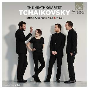 Tchaikovsky: String Quartets Nos. 1 & 3