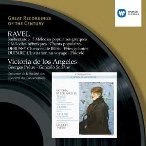 Victoria de los Angeles sings Ravel, Debussy and Duparc