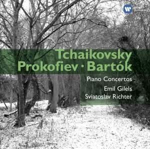 Tchaikovsky, Prokofiev & Bartók: Piano Concertos