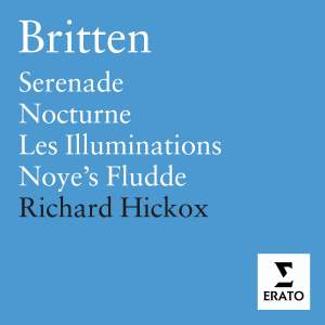 Britten: Serenade for Tenor, Horn & Strings, Op. 31, etc. Product Image