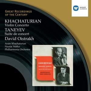 Khachaturian: Violin Concerto in D minor, etc.