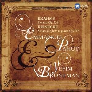 Brahms and Reinecke - Flute Sonatas