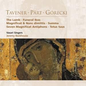 Tavener: The Lamb, etc.