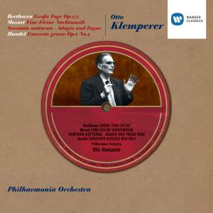 Klemperer conducts Beethoven and Mozart