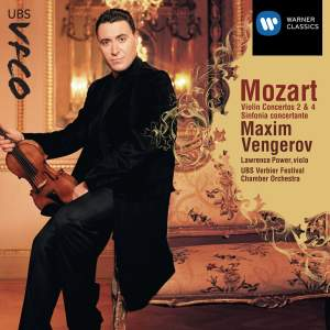 Mozart - Violin Concertos 2, 4 and Sinfonia Concertante Product Image
