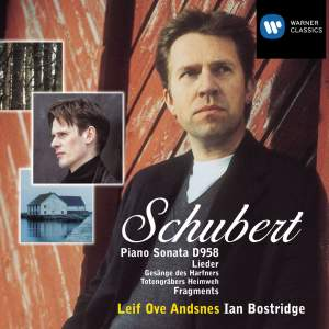 Schubert: Piano Sonata No. 19 in C minor D958, fragments & lieder