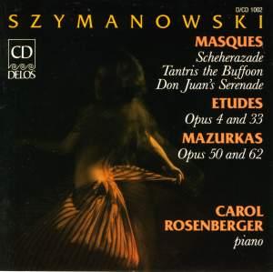 Szymanowski: Masques - Etudes - Mazur Product Image