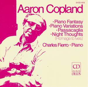 Copland: Piano Music Product Image