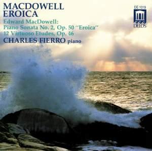 MacDowell: Piano Sonata No. 2 & Twelve Virtuoso Etudes Product Image