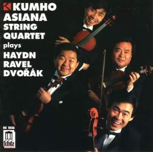 Kumho Asiana String Quartet plays Haydn, Ravel & Dvorak Product Image