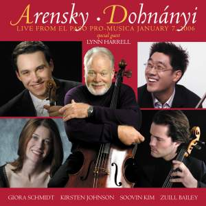 Arensky and Dohnanyi: Chamber Works Product Image