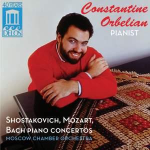 Constantine Orbelian: Shostakovich, Mozart & JS Bach Piano Concertos Product Image