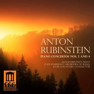 Rubinstein: Piano Concertos Nos. 2 and 4 Product Image