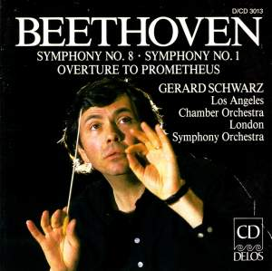 Beethoven: Symphony No. 8 in F major, Op. 93, etc. Product Image