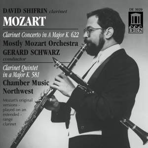 Mozart: Clarinet Concerto and Clarinet Quintet Product Image