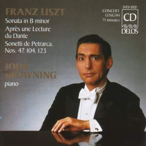 John Browning plays Liszt Product Image