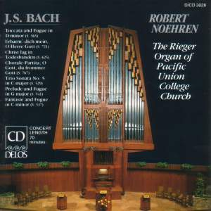Bach: Preludes & Fugues for organ Product Image