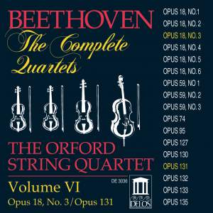 Beethoven: Complete String Quartets (Vol. VI) Product Image
