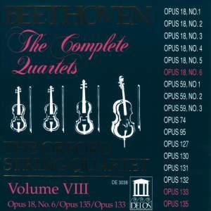 Beethoven: Complete String Quartets (Vol. VII) Product Image