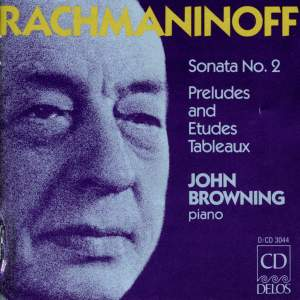 Rachmaninoff: Piano Sonata No. 2, Preludes & Études-Tableaux Product Image
